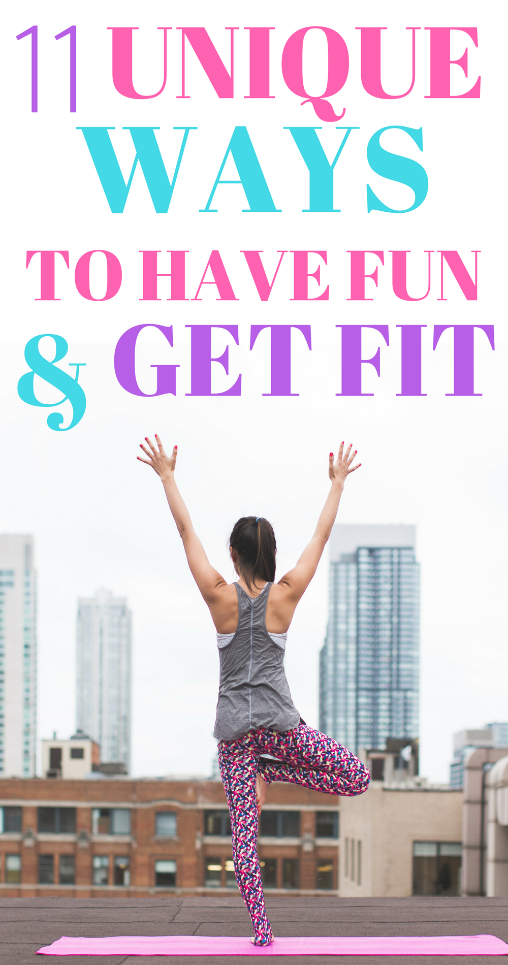 Exercise doesn't have to be terrible or boring with these fun ways to stay in shape! #fitness #exerc...