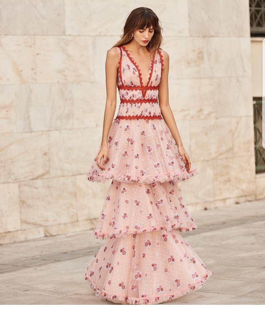christoscostarellos #dresses #dress #red #girl #fashion   boho style ...