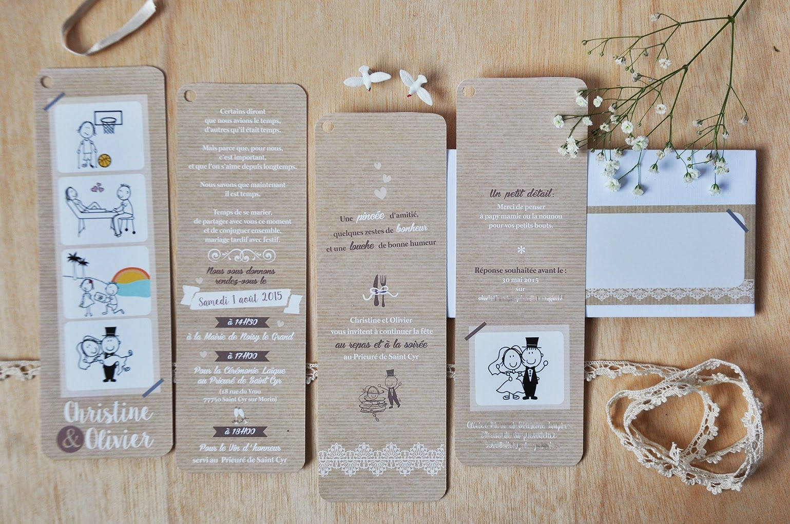 Favori Arrête de Rêver - Faire-part: Le faire-part de mariage de  XK15