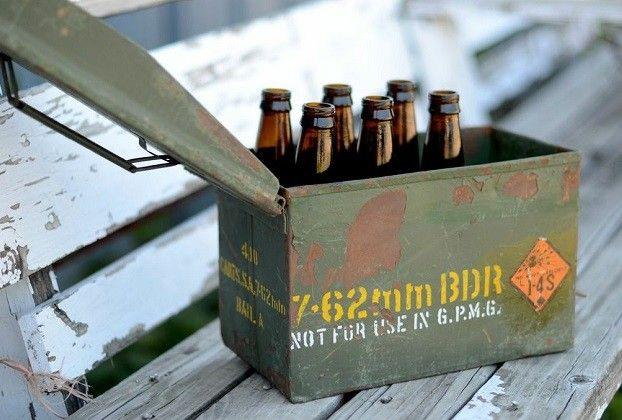 Fresh Finds Catalog Decor 8 | Vintage Ammunition Box | Vintage Ammo Boxes | Metal Storage Box