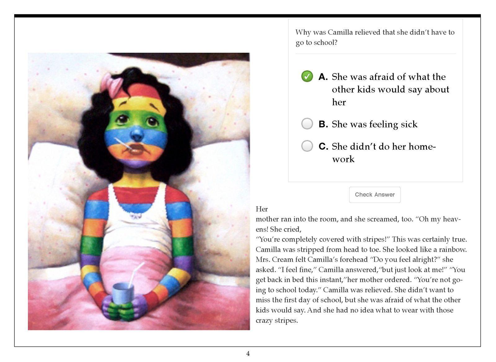 Barbara Dickmeyer S Ebook A Bad Case Of Stripes