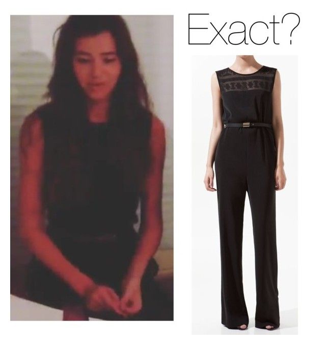 """Eleanor in France (Old)"" by thetrendpear-eleanor ❤ liked on Polyvore featuring Zara"