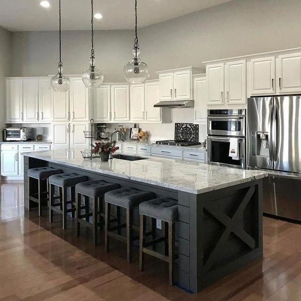 34 Nice Kitchen Island Design Ideas That You Will Want Diy