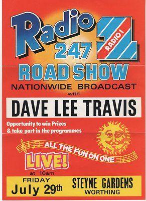 Radio 1 Roadshow Poster