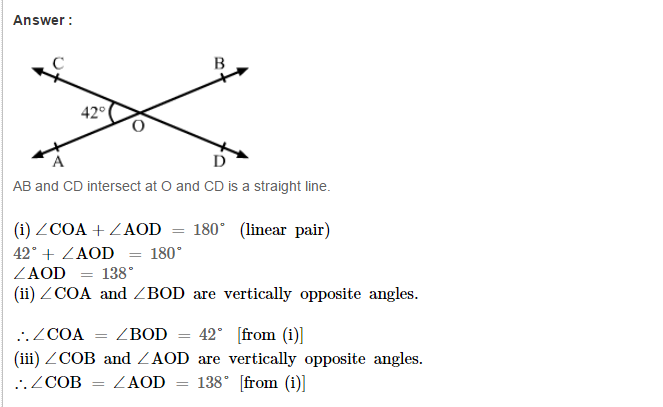 Lines And Angles Rs Aggarwal Class 7 Cbse Maths Solutions Aplustopper Rsaggarwal Maths Rsaggarwalclass7 Rsaggarwalcla Maths Solutions Math Worksheets Math