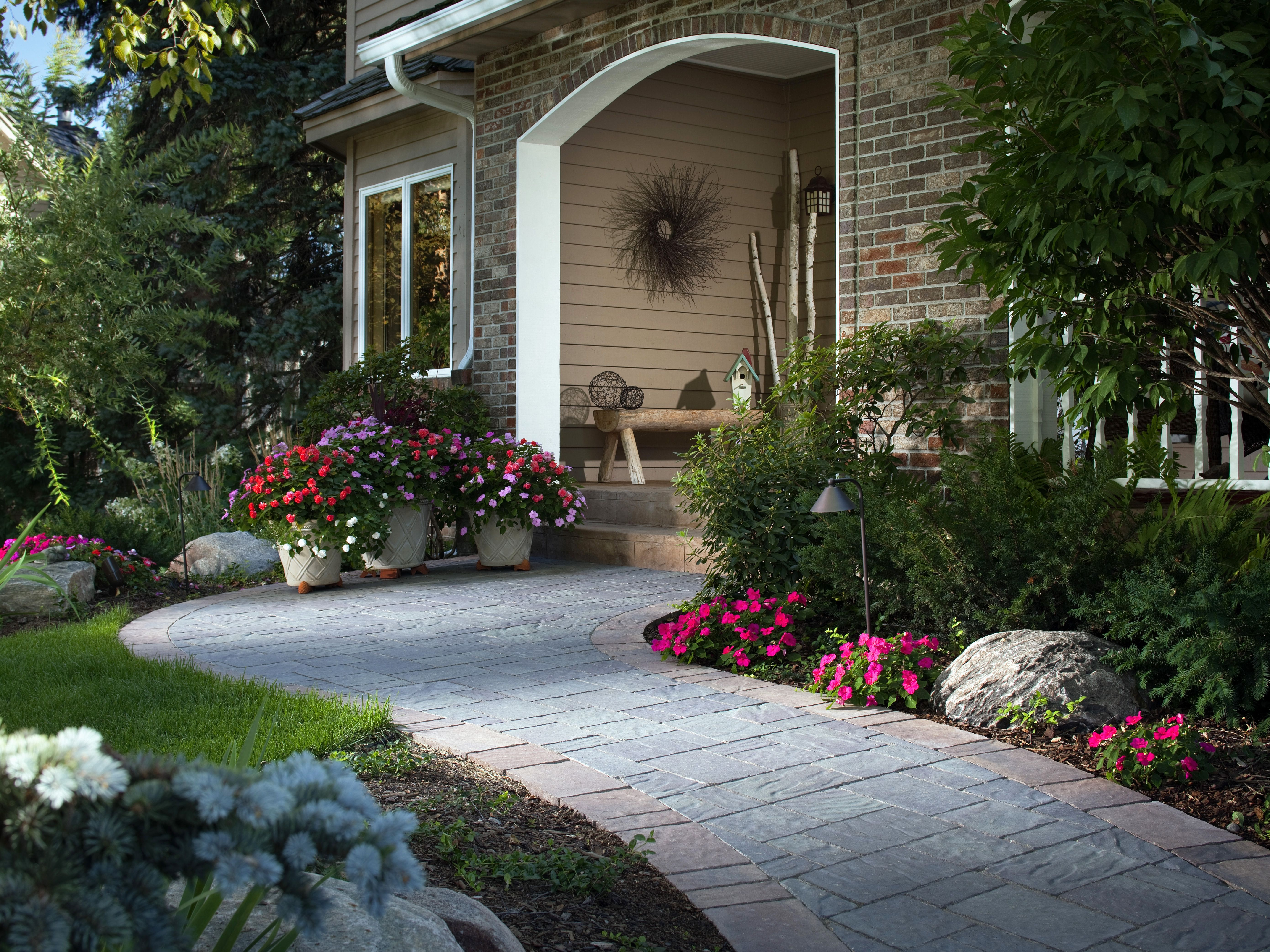 Charming Hgtv Landscaping Ideas Front Yard Part - 2: Four Beautiful Landscape Updates. Front Yard LandscapingLandscaping IdeasPorch  ...