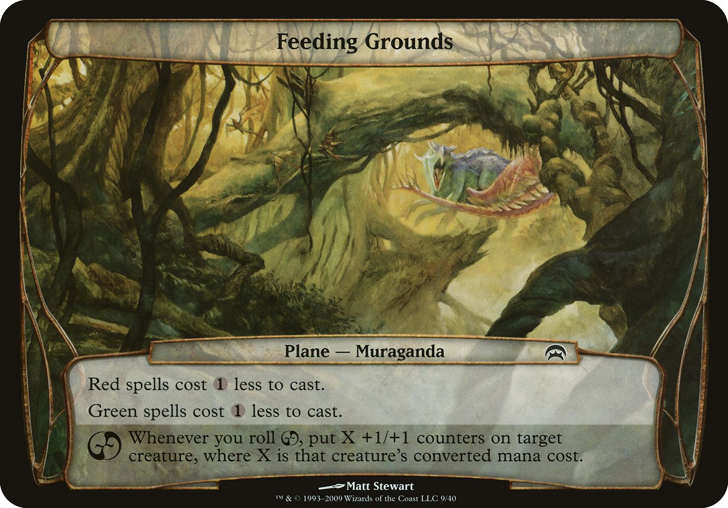 Plane Planechase Feeding Grounds Magic The Gathering Wizards Of The Coast The Gathering