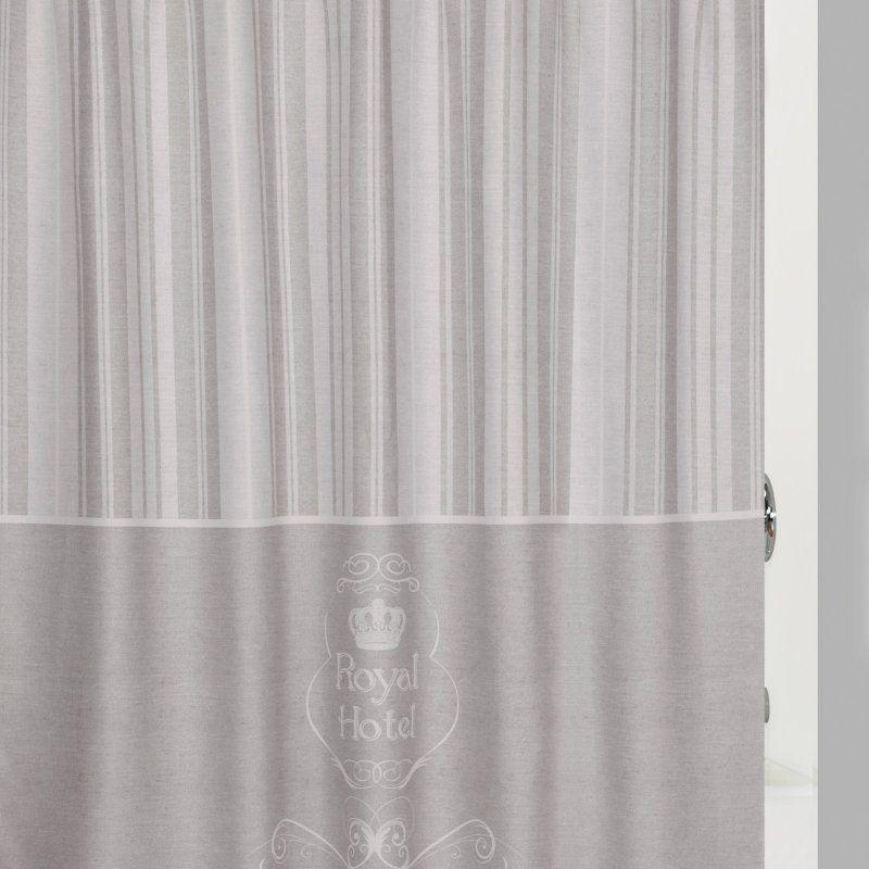 Creative Bath Products Royal Hotel Shower Curtain