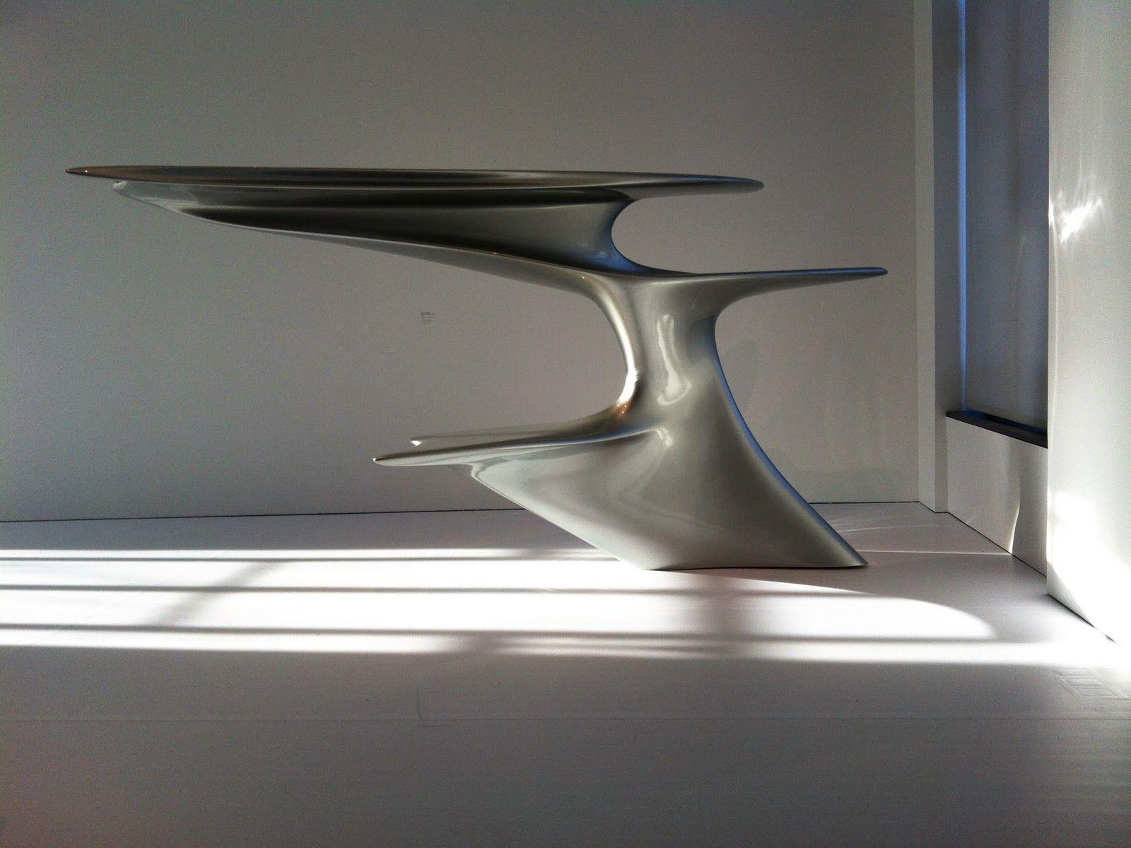 Zaha Hadid Form In Motion Philadelphia Museum Of Art Zaha  # Muebles De Zaha Hadid