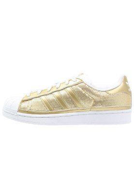 SUPERSTAR - Sneakers laag - gold metallic/white