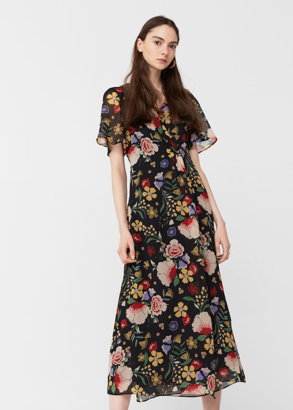 e12f77af6ef Floral wrap dress - Women