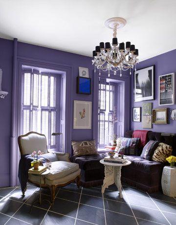 Lavender Walls Interieur Kleuren Interieur Raamdecoratie