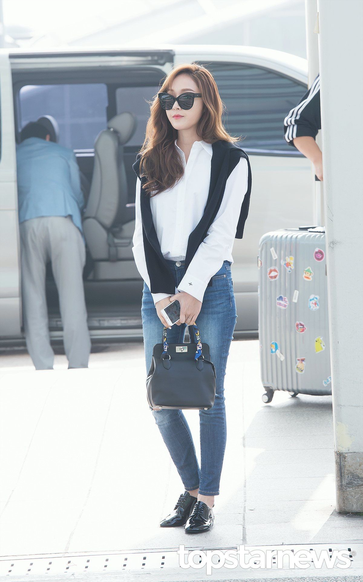 extraordinary korean airport outfit 14