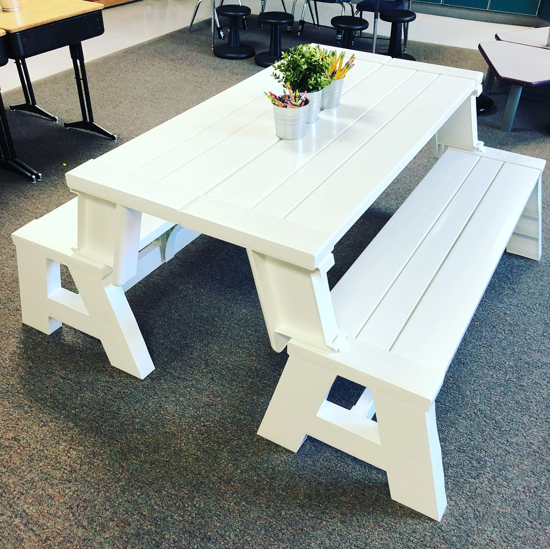 I Like The Picnic Table And Chairs Because You Can Use It For Dramatic Play Or You Can Use It A Flexible Seating Classroom Flexible Seating Classroom Furniture