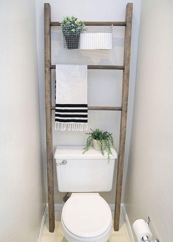 100 Room Challenge Week 4 Bathroom Makeover Reveal Elizabeth Joan Designs Bathroom Storage Over Toilet Diy Bathroom Storage Bathroom Makeover