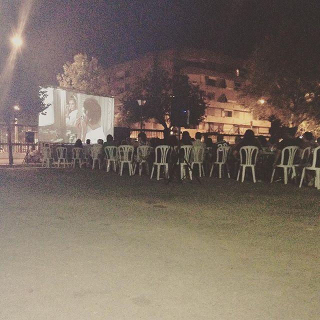 Cine De Verano En El Parque Maria Luisa En Buenísima Compañía Margarram7 Rafacledesma Danitis An Hectorfez Jorgecarlos Cine De Verano Cine Parques