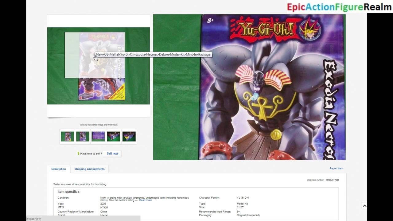 Unbearable ebay auction regrets episode 1 the yugioh