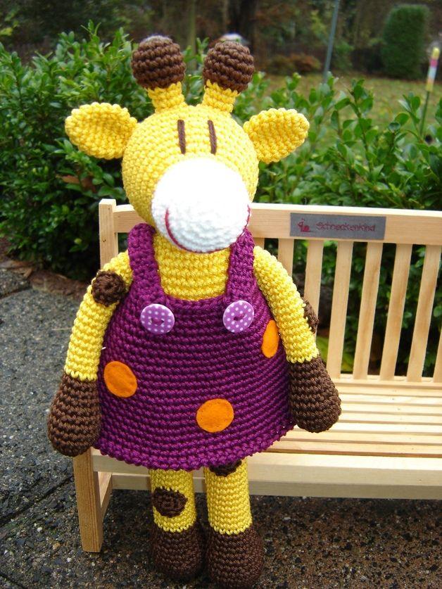 RESERVIERT für MIRJA: Greta Giraffe ♥ | Crochet | Pinterest ...