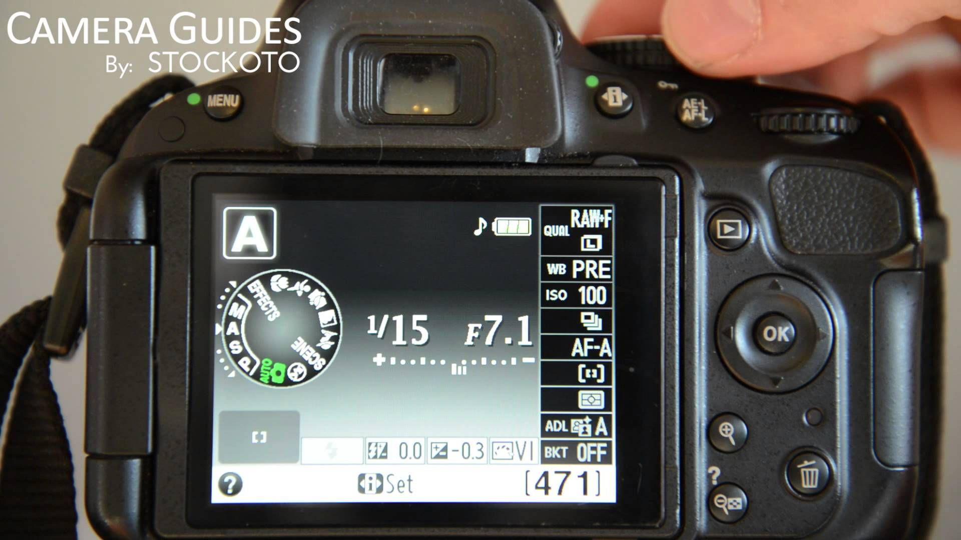 nikon d5300 how to set timer