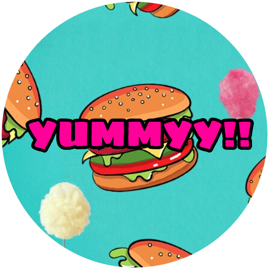Yummy!! Logo for Youtube cooking channel non copyrighted