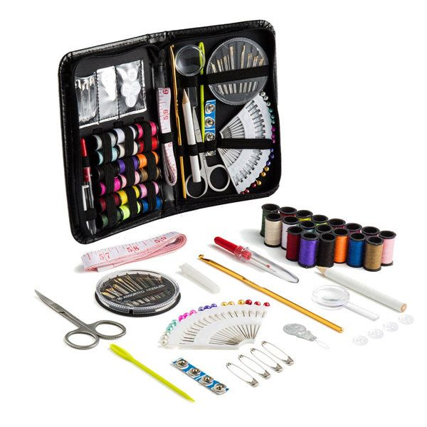 91pcs Portable Sewing Kit Home Travel Emergency Professional Sewing ...