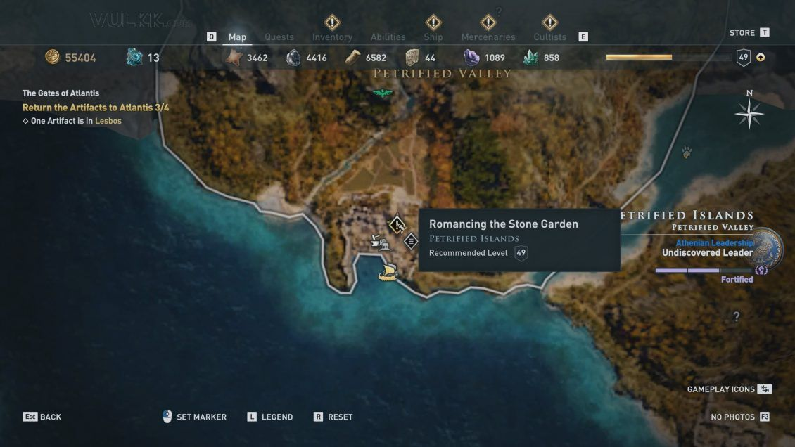 How To Find And Defeat Assassin S Creed Odyssey Medusa Boss