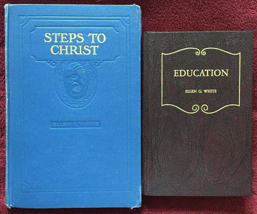 Ellen g white duo steps to christ education sda adventist books egw