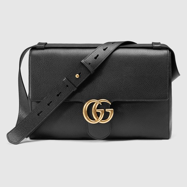 Gucci GG Marmont leather messenger 1490 EUR. $1850 on Gucci Store USA.