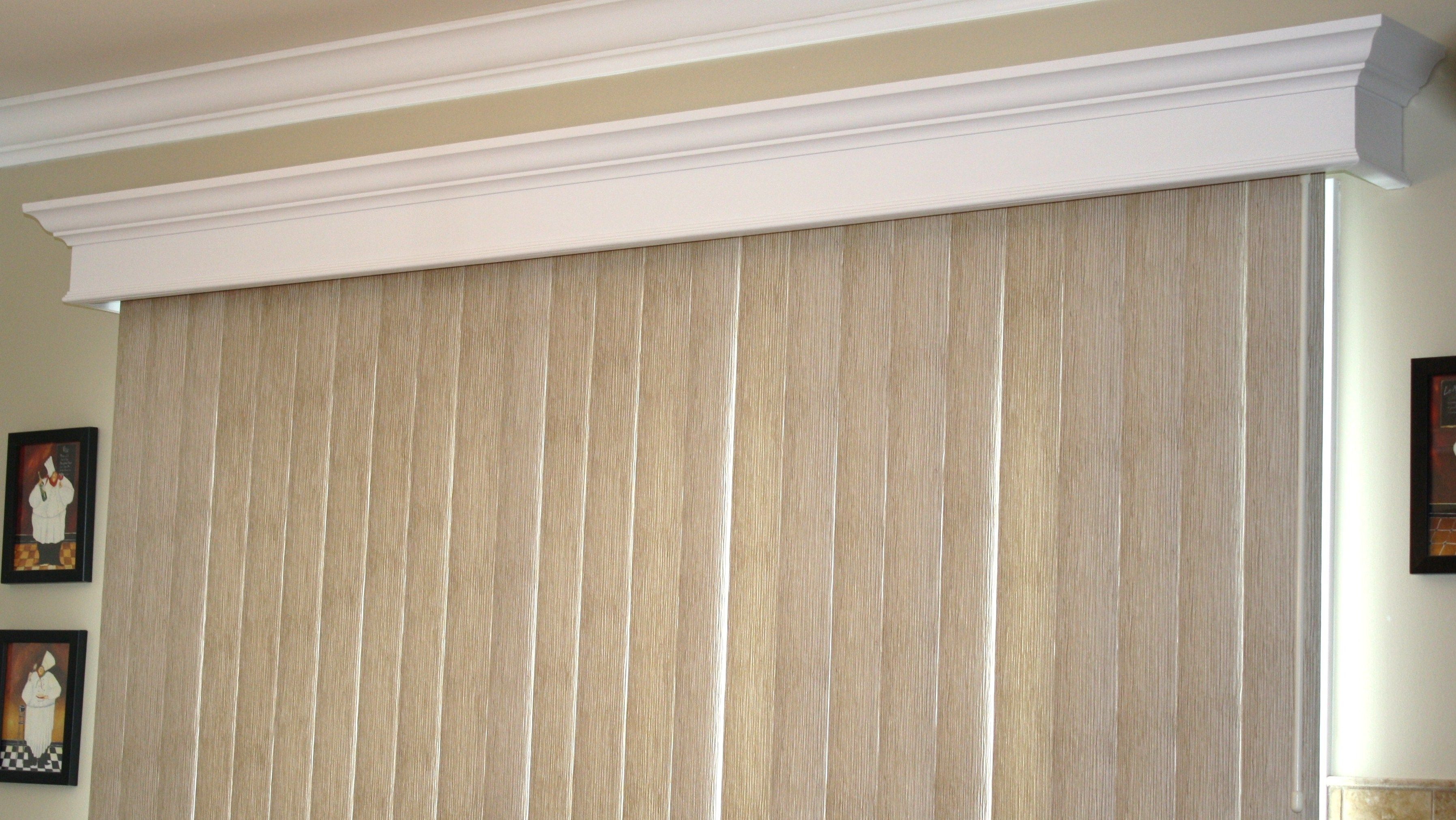 New Valance Ideas For Vertical Blinds