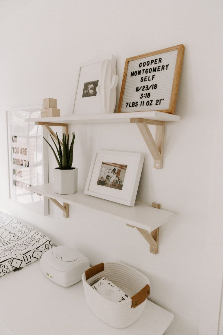 Minimal Boho Nursery With Images Baby Decor Baby Girl Room