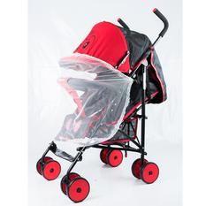 ladylazy รถเข็นเด็ก รุ่น VS320 ปรับได้3ระดับ (สีแดง)