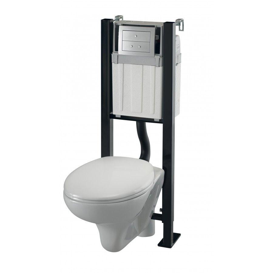 Pack Complet Wc Suspendu Smart Onyx Wirquin Chez Mr Bricolage Wc Suspendu Toilettes Et Pack Wc Suspendu
