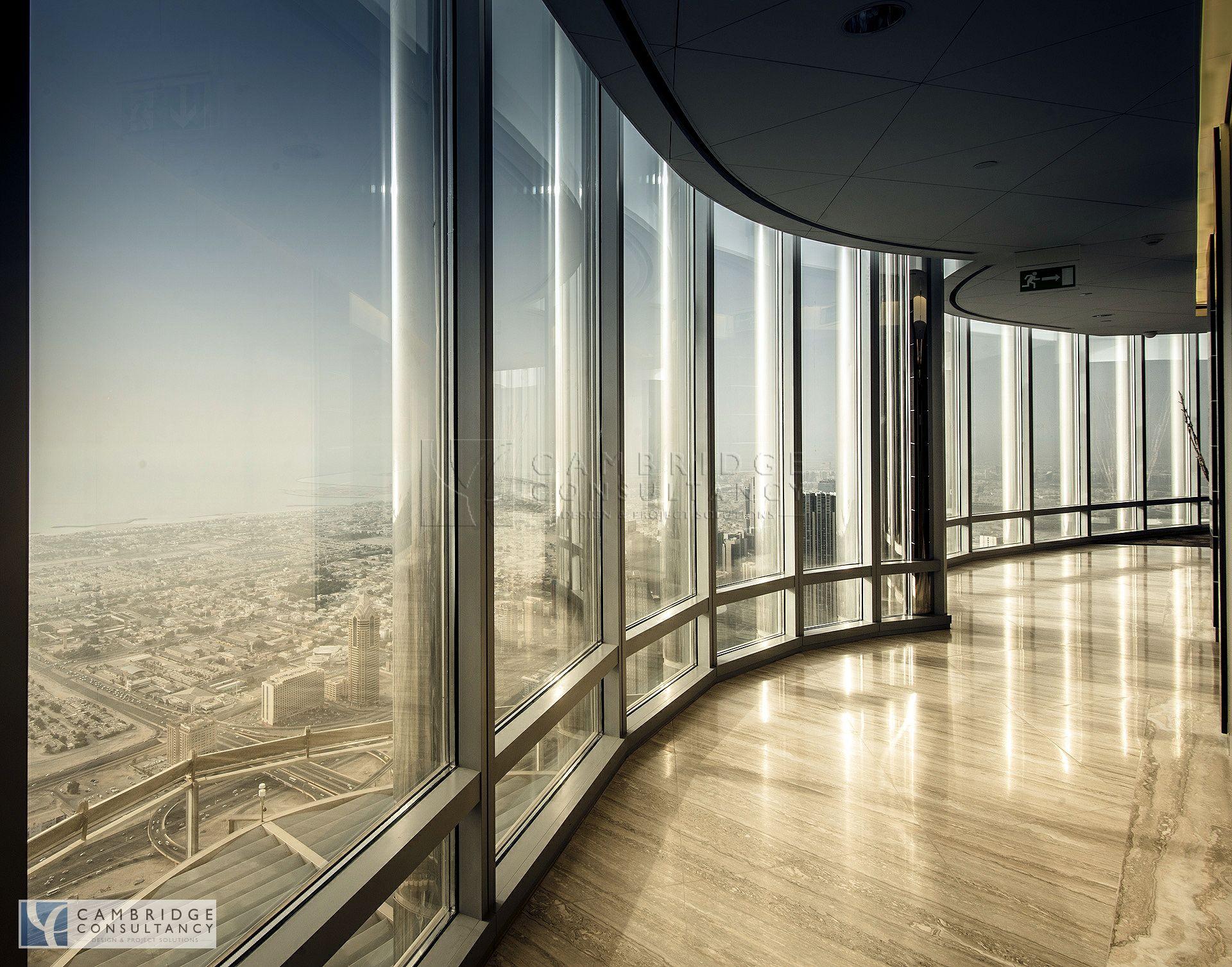 Honest RE office inside Burj Khalifa, full floor