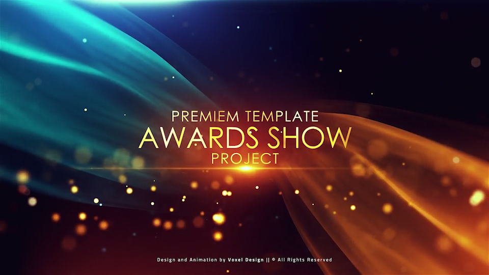 Cinematic Classical Awards Opener #motiongraphic