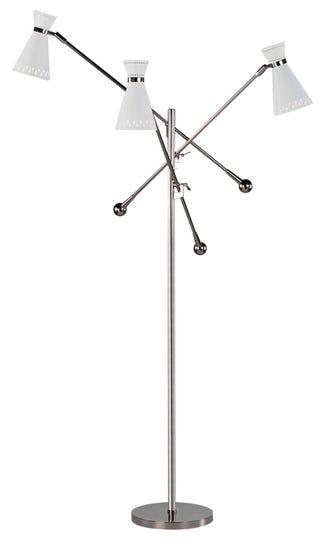 Jonathan Adler Havana 3 Arm Floor Lamp Contemporary Metal Floor
