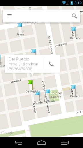 Lista de farmacias de turno de Coronel Suárez  http://Mobogenie.com
