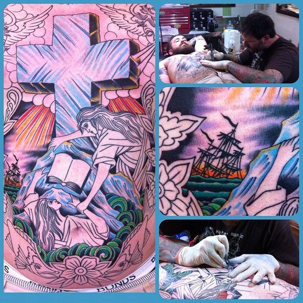 Steve Byrne chest tattoo Chest tattoo, Art inspiration, Art