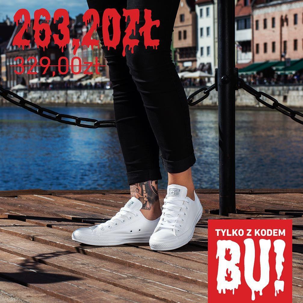 Converse Z Kolekcji Fall Winter 2015 Oraz Modele Klasyczne Teraz 20 Taniej Wystarczy Dodac Buty Do Koszyka I W Okienko Wpisac Kod White Sneaker Shoes Fashion