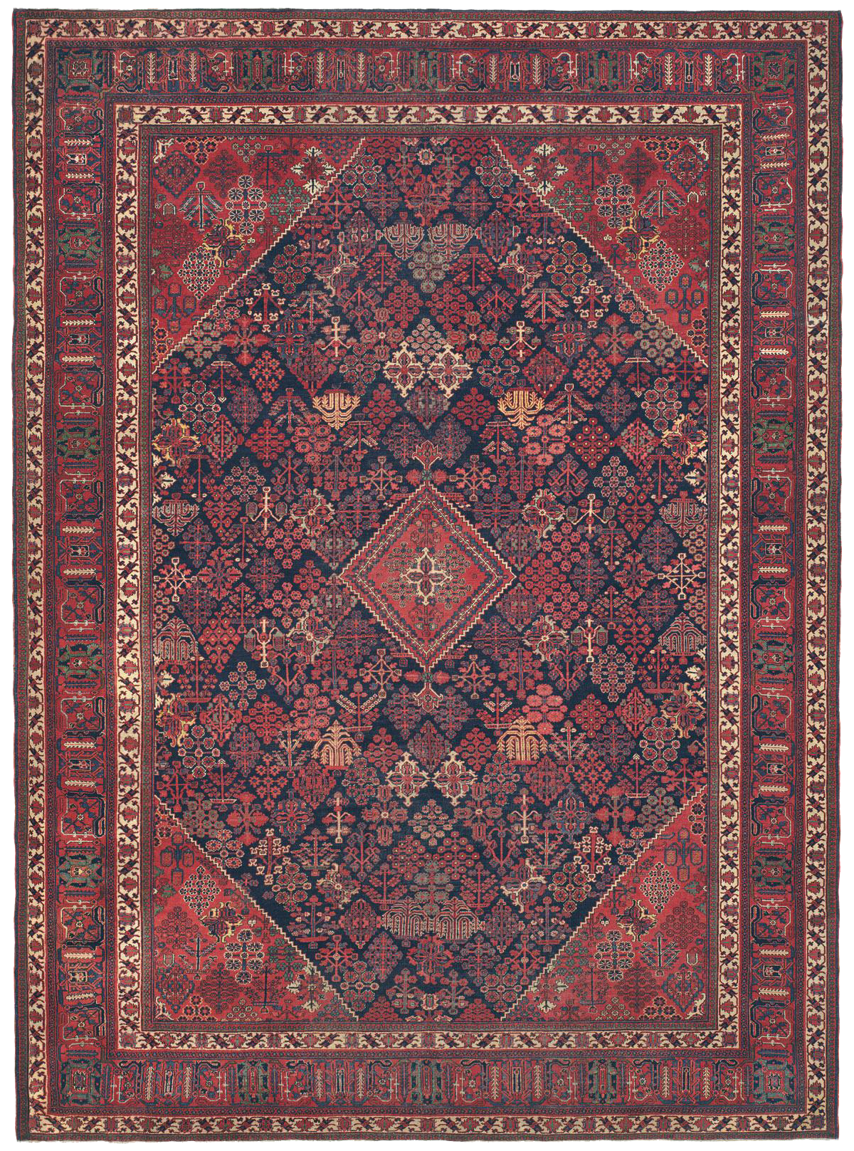Antique Persian Rugs In The Town Tradition Antique Persian