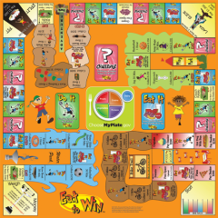 Board Game Eat To Win Board Games Games Crafts