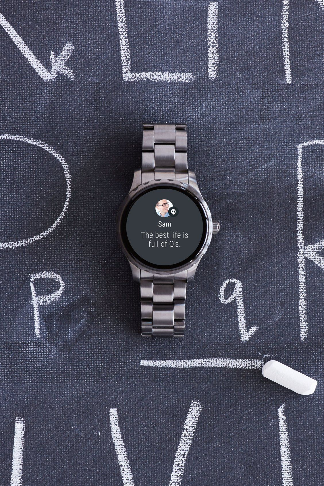 Gen 3 Smartwatch Explorist Smoke Stainless Steel Mens Accessories Bracelet Mens Accessories Smart Watch