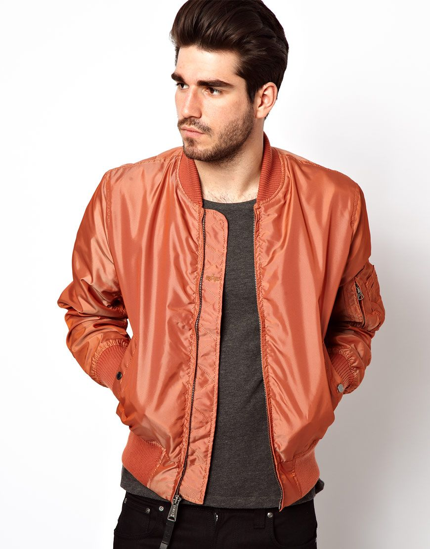 Alpha Industries bomber jacket   Men s Style   Fashion   Pinterest c2cabb00dde