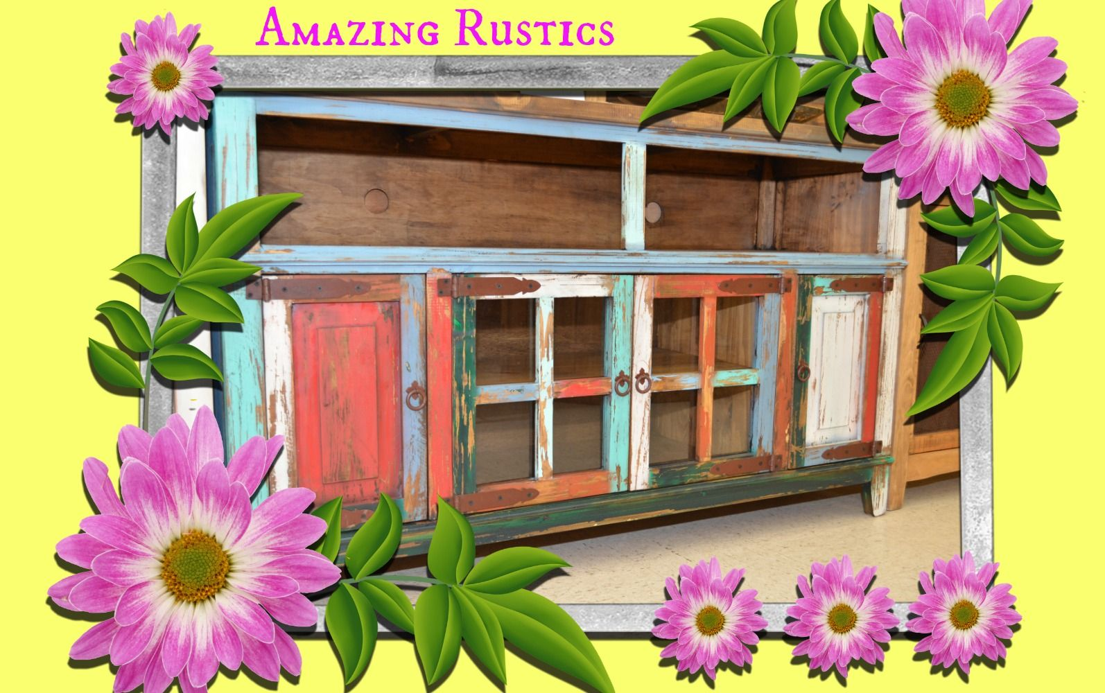 add color! | Barn, Rustic furniture, Rustic