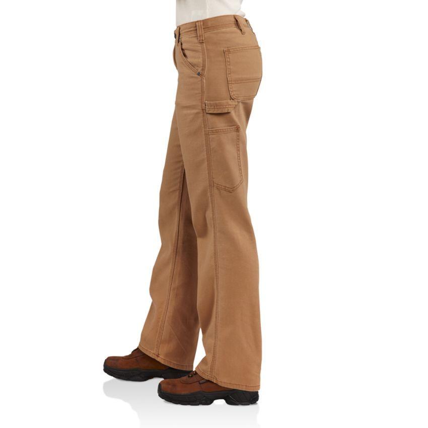 Carhartt Women S Original Fit Canvas Crawford Dungaree Pants Work Pants Women Carhartt Pants Pants For Women