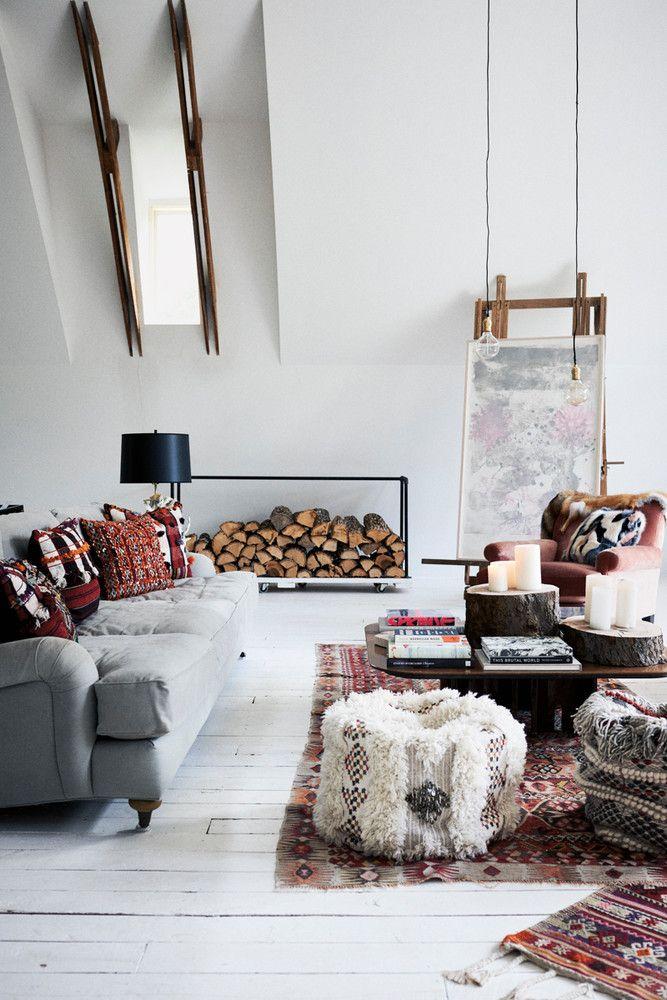Cozy Cool Living Room