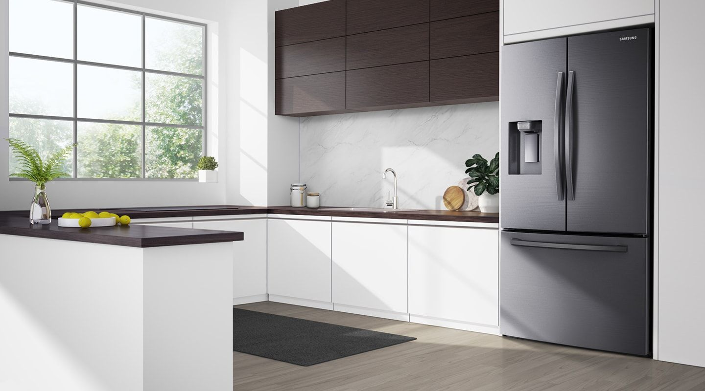 Rf23r6201sr french door refrigerator with twin cooling