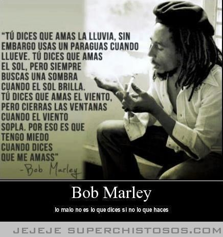 Bob marley frase frases pinterest bob marley bobs and frases bob marley frase thecheapjerseys Image collections
