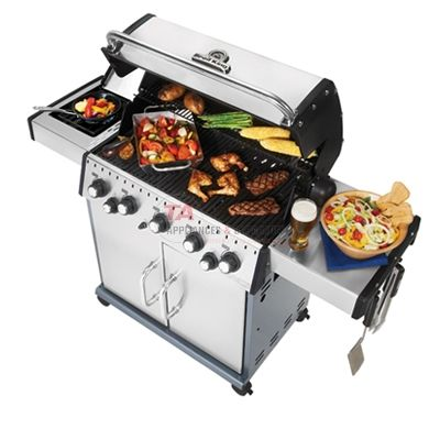 Broil King Grills Baron 590 S 923584 Lp Freestanding Liquid Propane From Ta Appliance Gas Grill Propane Gas Grill Stainless Steel Grill