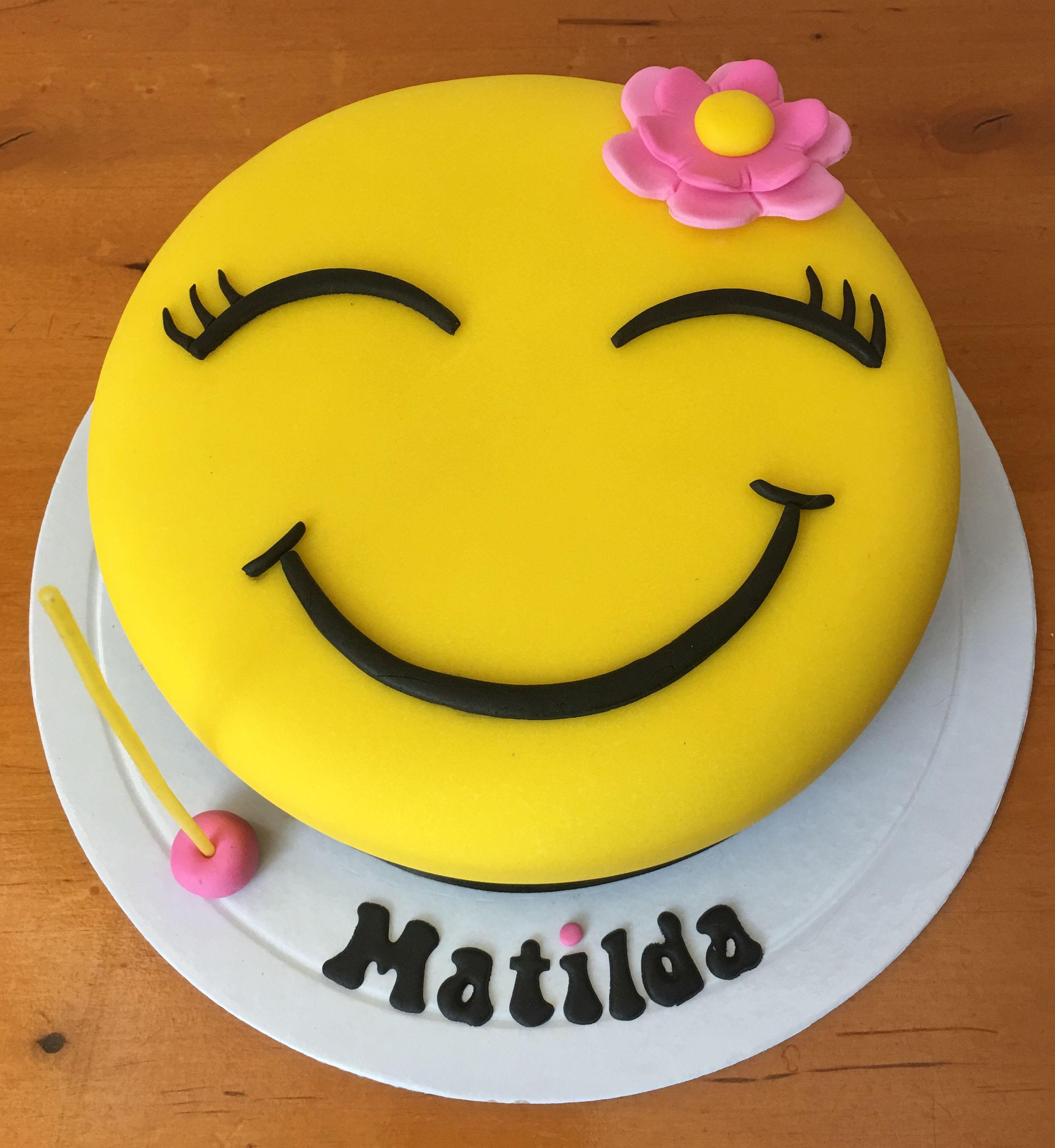 Emoji Happy Barbie Face