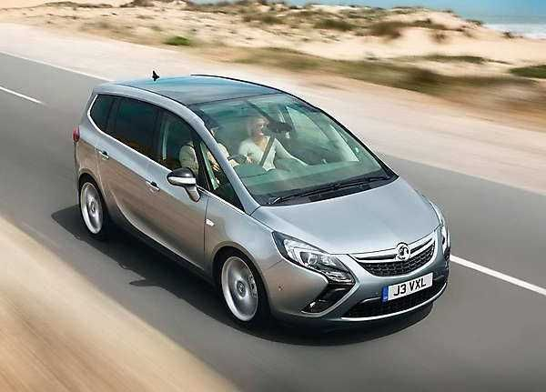 2018 2019 Opel Zafira Tourer New Minivan From 2018 2019 Opel